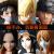 全セット海賊王フィギュア路飛索隆エース阿修罗女帝白ひげ人形デコレション全セット限定版ゴールド城9種上質版