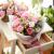 I'M HUA HUAクリーエテ21本の石鹸の花のバラの花束セットの花をプレゼントします。母の日にカーネーションの花をプレゼントします。