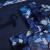 巧心師クレエティティティブギエフ教会堂風北欧ラッピングフラワー母の日プレゼント妻誕生日プレゼントDIYギフトボックス包装紙手書き紙ブルー6枚セットを彼女にプレゼントします。