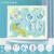 Tanice手足印泥赤ちゃんの満月プレゼント赤ちゃんの新生児百歳の記念手足印泥胎毛瓶クレエテブの成長足跡Tyn 01