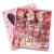 チル豚誕生日プリセットガール子供のプレゼントボックス子供のプレゼント小公主赤ちゃんの髪飾り女子の髪を束ねて新年のプレゼントとして子供と子供の子供に卒業ワインレッドをあげます。